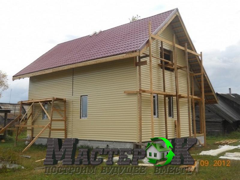 Фотоотчеты строительства домов своими руками